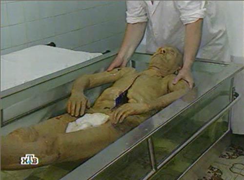 El cuerpo embalsamado de Lenin