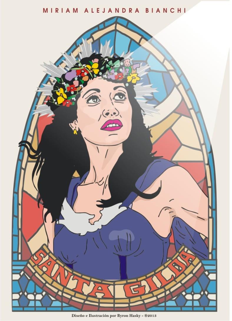 Rayo rojo - santos - Gilda
