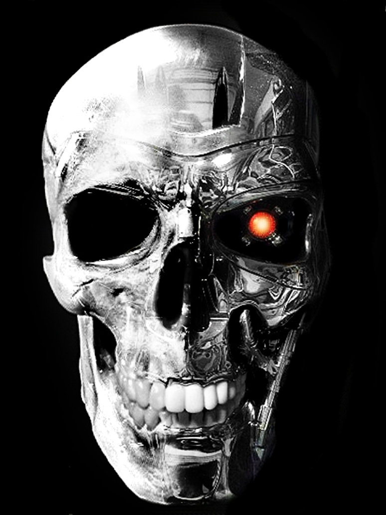 terminator_and_human_skull_by_DarkMatteria