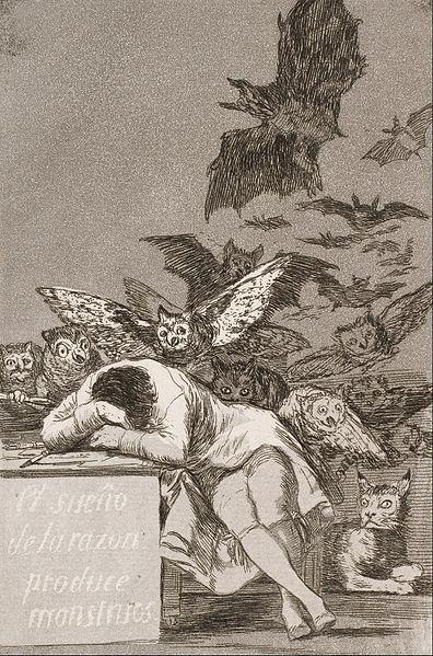 Francisco_José_de_Goya_y_Lucientes_-_The_sleep_of_reason_produces_monsters_(No._43),_from_Los_Caprichos_-_Google_Art_Project