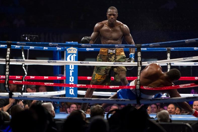 Deontay Wilder vs Kelvin Price