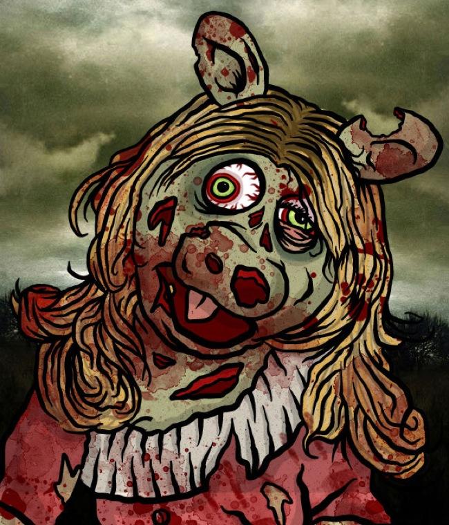 Zombie-Piggy-Muppets