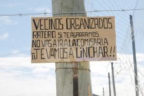 cartel barrio los hornos linchar